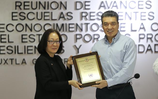 Recibe Rutilio Escandón reconocimiento de laONU