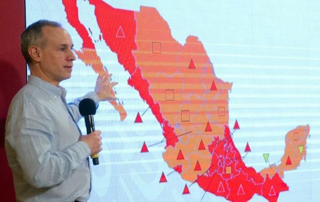 Gobernadores de 10 estados piden salida deLópez-Gatell