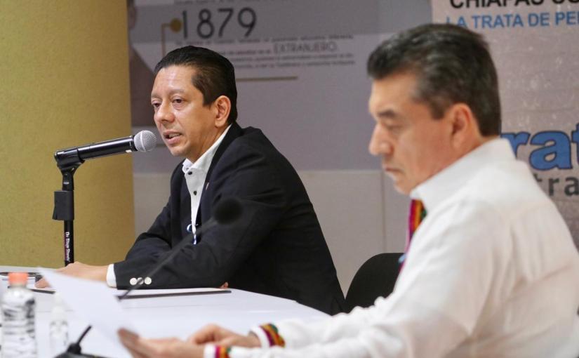 Chiapas tiene un gobierno que combate la trata:Llaven