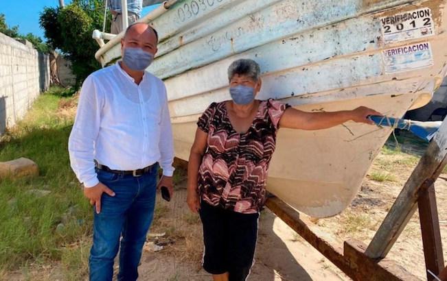 Alcalde de Comondú edita fotos para que aparezca concubrebocas