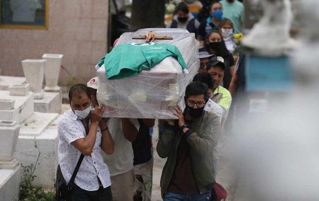 Casos de COVID en México llegan a 537 mil, con 58 milmuertes