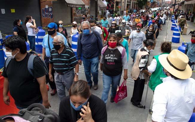 México, cerca de los 550 mil casos confirmados deCOVID-19