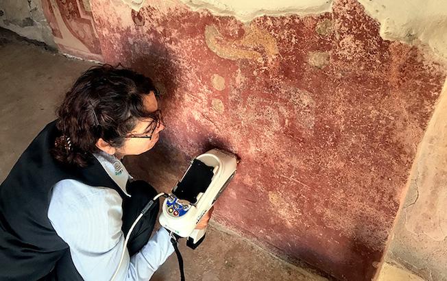 Detectan uso de cinabrio en murales tempranos deTeotihuacan