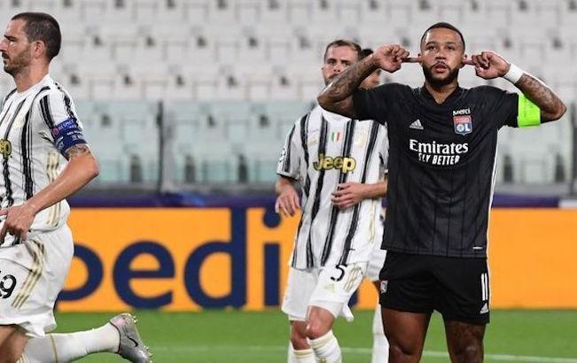 Lyon sobrevive a Cristiano y elimina a laJuventus