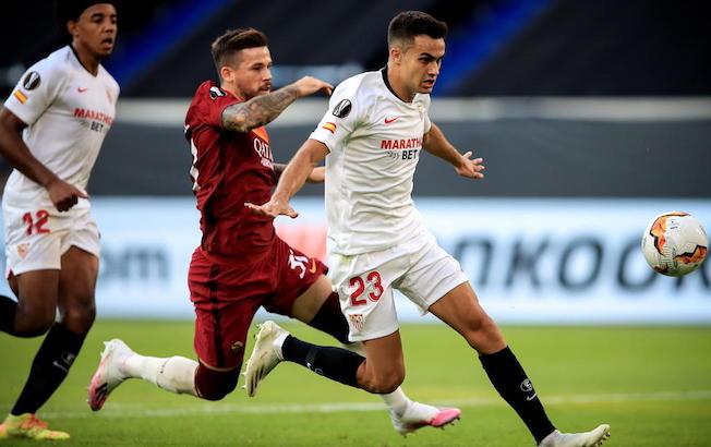 Sevilla vence 2-0 a la Roma y pasa a cuartos de EuropaLeague