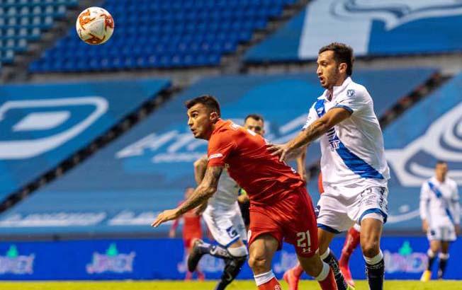Puebla golea 4-1 al Toluca y regresa a puestos deliguilla