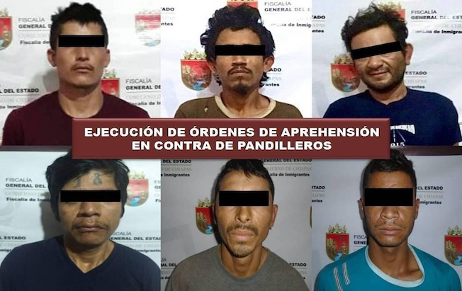 Caen pandilleros buscados en El Salvador yHonduras