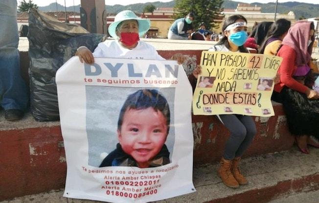 Marchan en SCLC para exigir la aparición de DylanEsaú