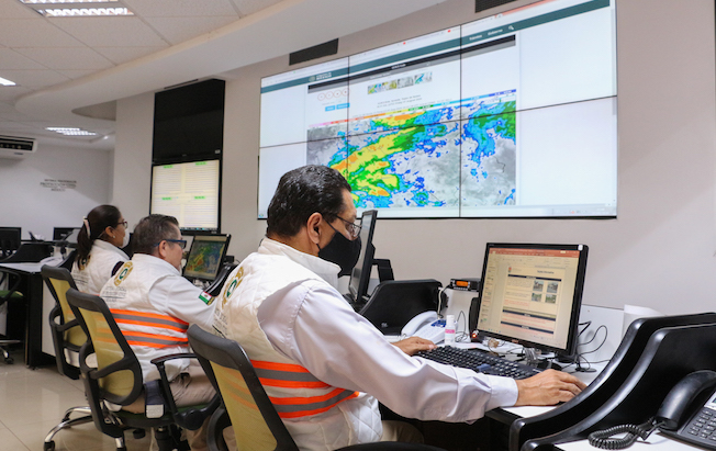 Se pronostican lluvias intensas con descargas eléctricas paraChiapas