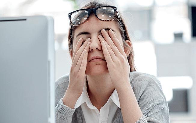 Problemas visuales son más comunes en adultosjóvenes