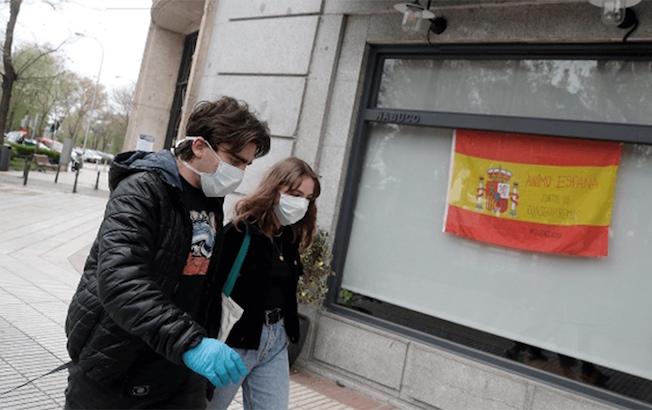 España regresa al top 10 de países con más contagios deCOVID-19