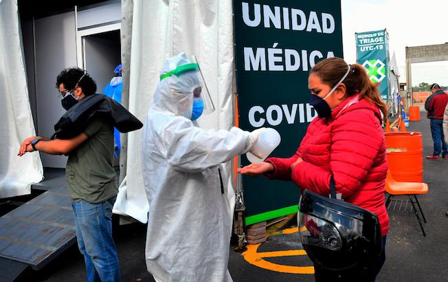 México llega a los 560 mil casos deCOVID-19