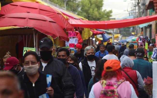 En 24 horas, tres mil 541 nuevos casos de COVID-19 enMéxico