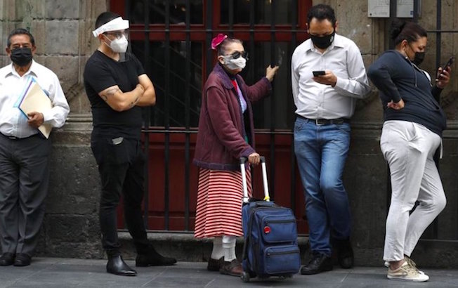 Coronavirus en México supera los 525 milcasos
