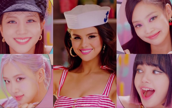 """Selena Gomez y BLACKPINK lanzan adelanto de """"IceCream"""""""