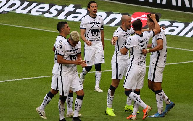 Con doblete de Dinneno, Pumas derrota a domicilio alAtlas