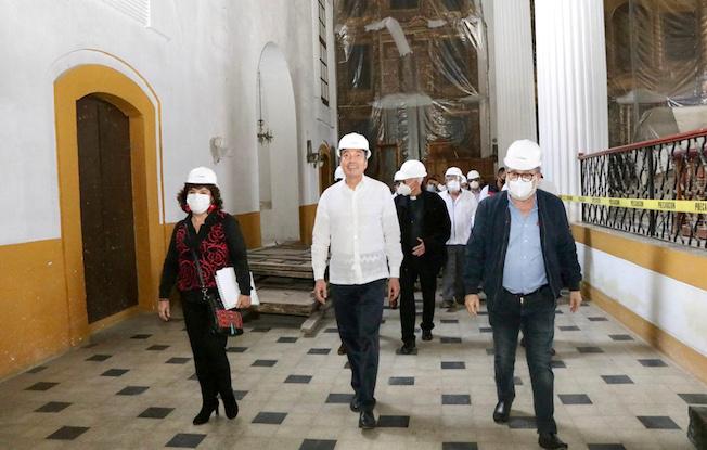 Avanza rescate de templos dañados por sismo:Rutilio