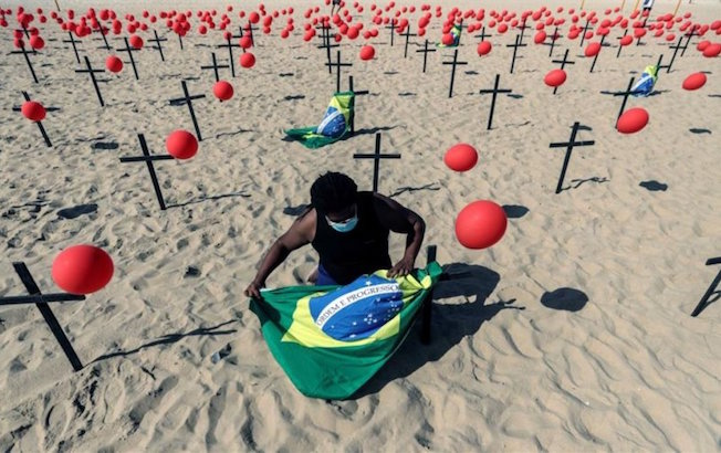 Brasil se acerca a los 108 mil muertos porCOVID-19