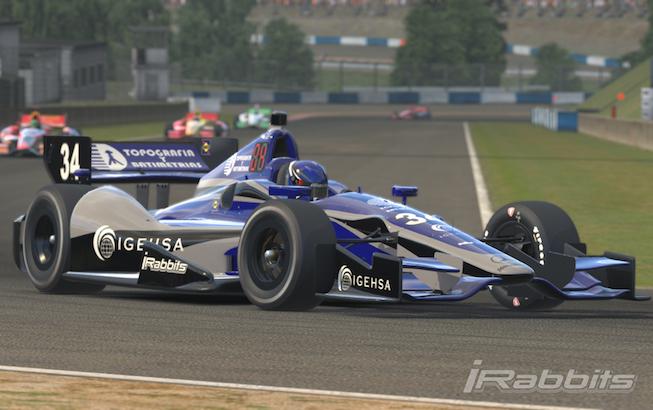 Hugo Curiel dio la sorpresa en Indianapolis MotorSpeedway