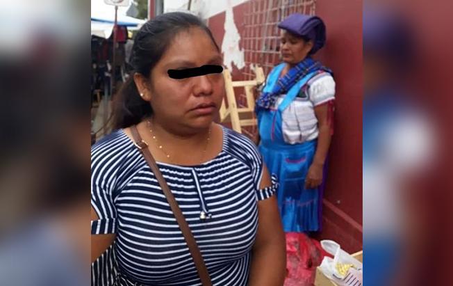 Arrestan a mujer con tres mil pesos en billetesfalsos