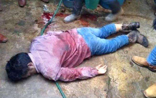 Lo asesinaron a tiros en San JuanChamula