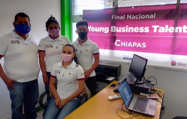 Chiapanecos destacan en Young Business Talents2020