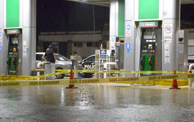 Asalto armado a gasolinera dejó unlesionado