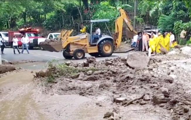 Lluvias dejan daños en la región norte deChiapas