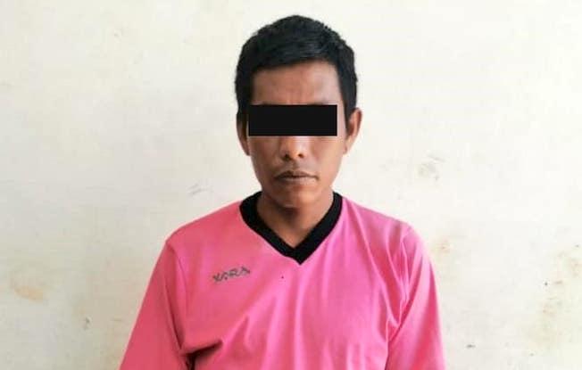 Policía municipal aseguró a un sujeto conmarihuana