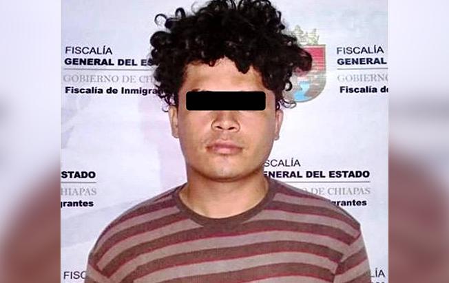 Cae en Chiapas pandillero buscado en ElSalvador