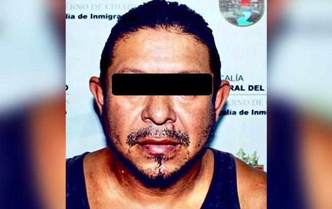 Capturó FGE a pederasta hondureño enTapachula