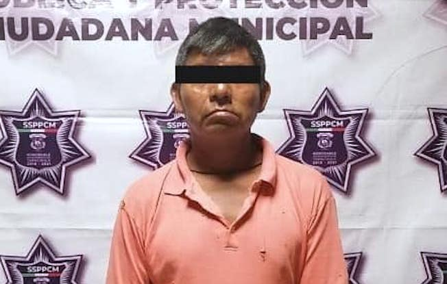 Policías municipales detienen a presuntopederasta