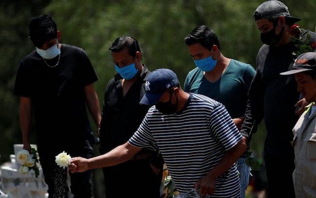 Reportan 705 mil casos de COVID-19 en México, con 74 mil 348muertes