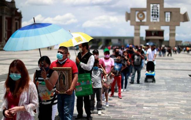 México alcanza las 74 mil 949 muertes porcoronavirus