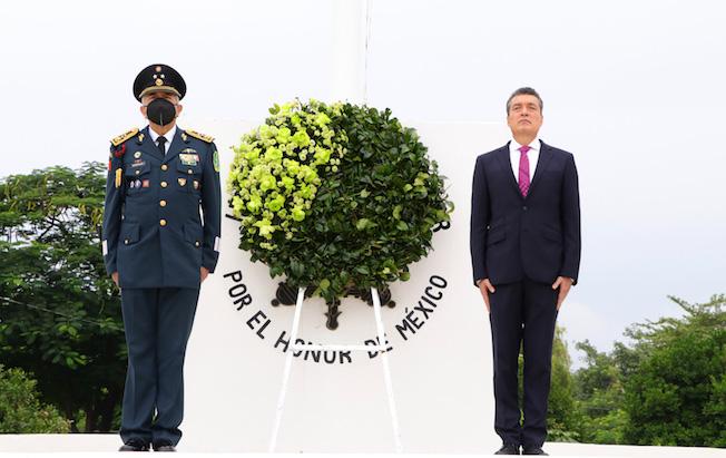 Conmemora Rutilio gesta de Niños Héroes deChapultepec