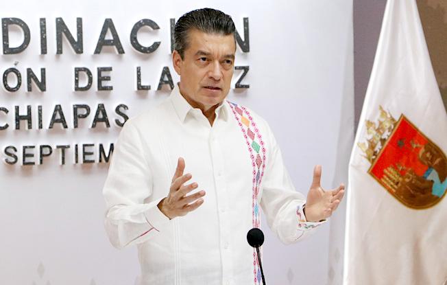 Festejos patrios en Chiapas se realizarán sinpúblico