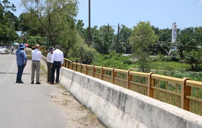 Inicia SOP rehabilitación de puente dañado enTapachula