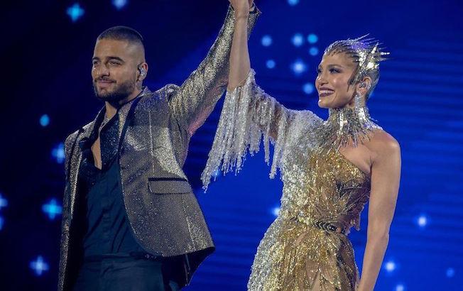 Jennifer López y Maluma anuncian colaboraciónmusical